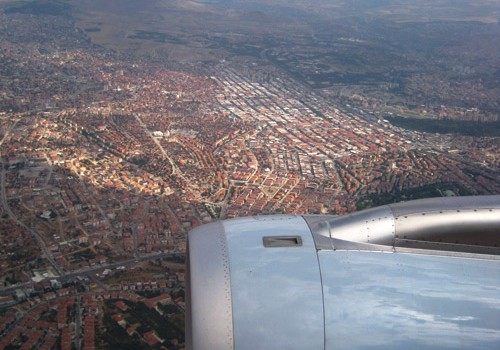 Ankara from the plane