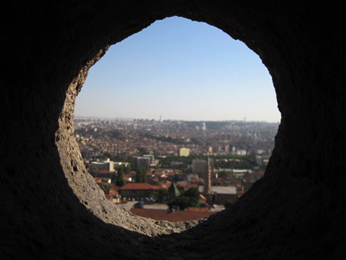 View from inside the Ulus castle