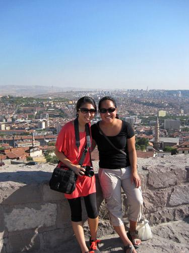 Ulus Citadel in Ankara, Turkey