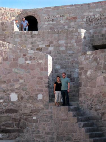 Ulus Castle in Ankara, Turkey