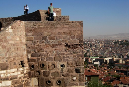 Castle Climbing in Ulus, Ankara