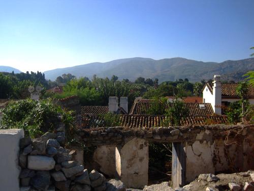 Selçuk city and landscape