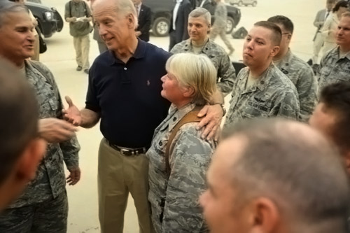 My Mom and Joe Biden