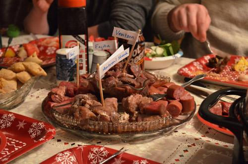 Fondue Meats
