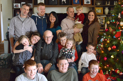 Wilcox grandkids and great-grandkids