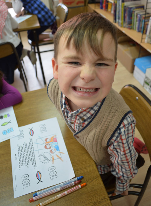 100th Day of School in Bible