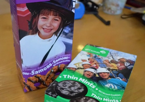 Samoas and Thin Mint cookies
