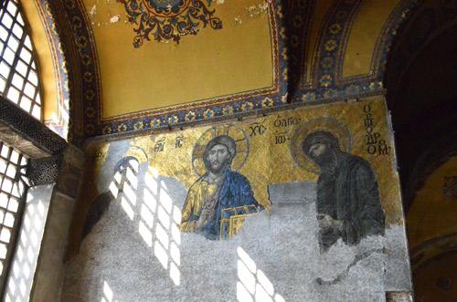 Mosaics in Hagia Sophia