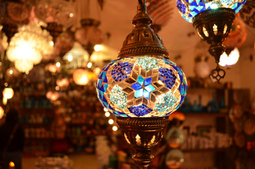 Lanterns in Yore in Ulus, Ankara