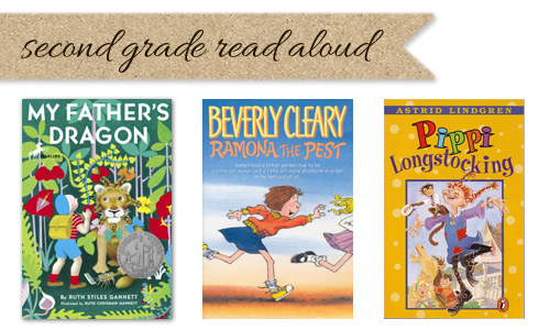Second grade read aloud list