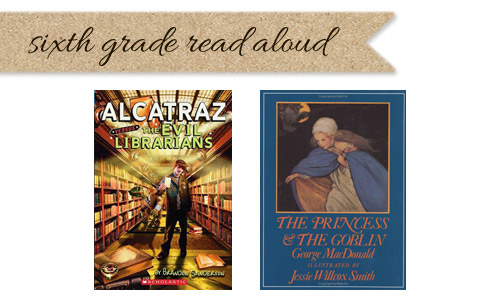 Sixth grade read aloud list