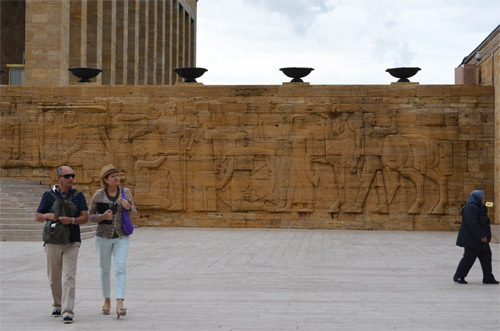 Reliefs at Anıtkabir