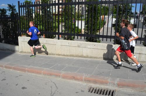Running Club's 10k race