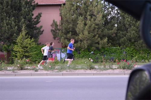 Running towards Panora