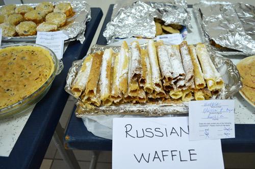 Russian waffles