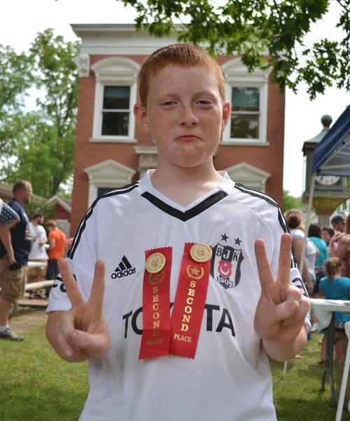 Second place Ben