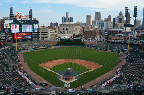 Field at Comerica Park