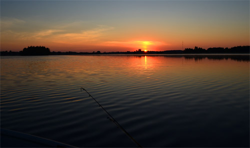 Sunrise while fishing