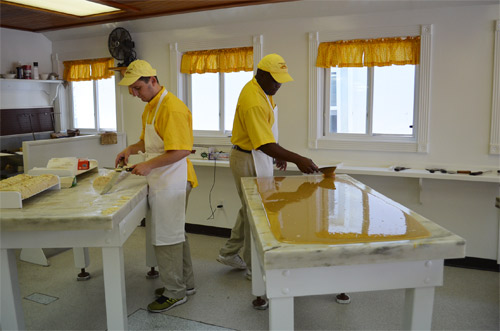 Fudge Makers on Mackinac Island