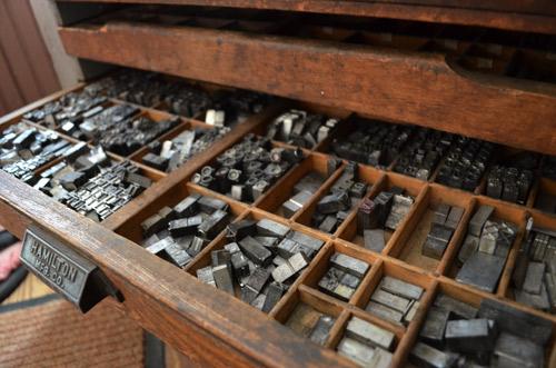 Typeset drawer