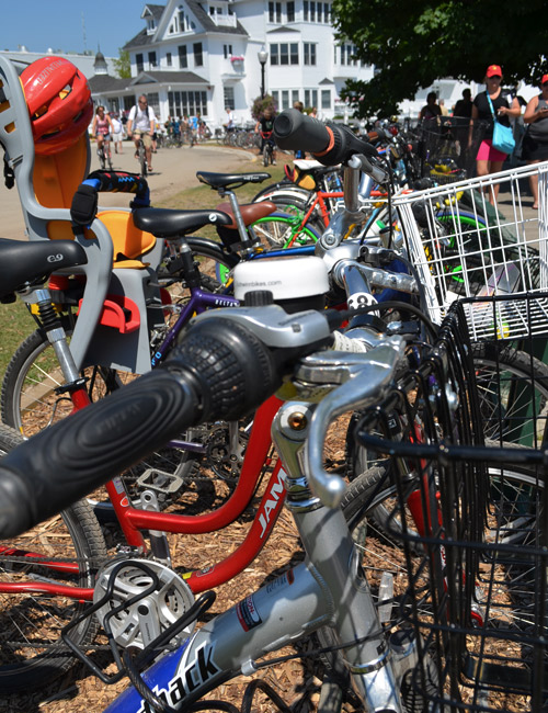 Mackinac bikes