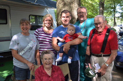 Four Generations of Wilcox/Benedict