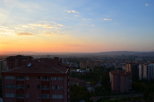 Ankara Sunset