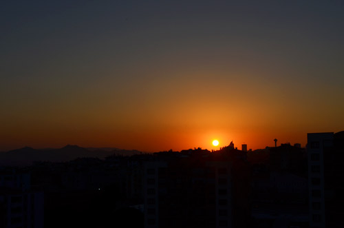 Ankara Sunrise