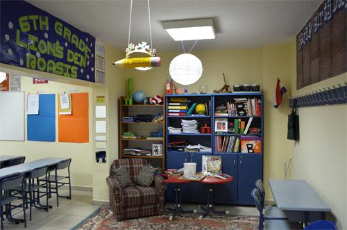 Sixth Grade Classroom