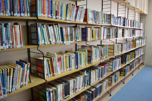 Juvenile fiction shelves