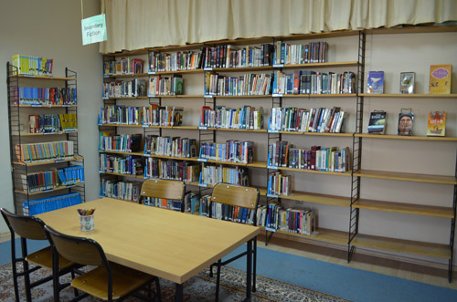 Secondary fiction section