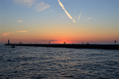 South Haven, Michigan Sunset