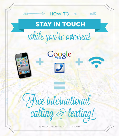 Staying in touch when you're overseas
