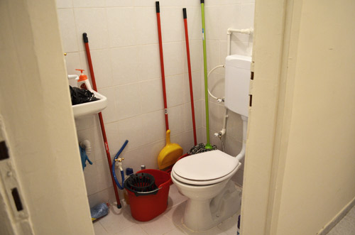 Spare bathroom