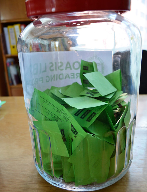 Reading program entry jar