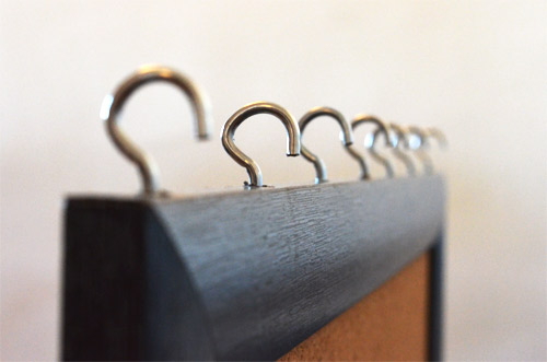 Hardware hooks for necklaces