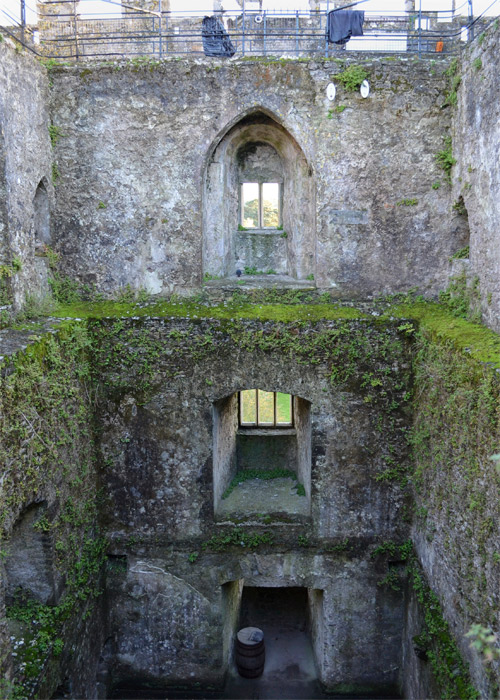 Inside the Blarney Castle