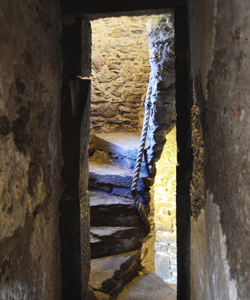 Blarney Castle stairs