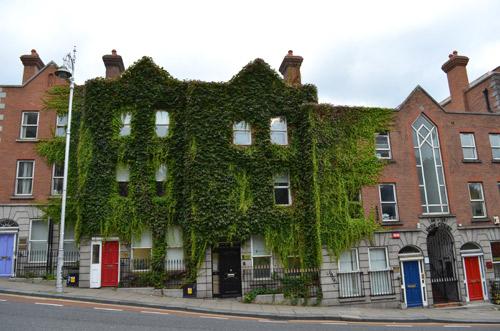 Old buildings in Dublin