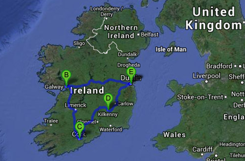 Our Ireland Road Trip