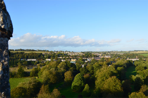Top of the Blarney Castle view