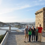 Friends in the Bodrum Castle Museum