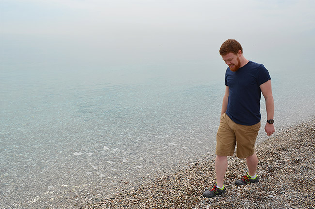 David on the Antalya beach