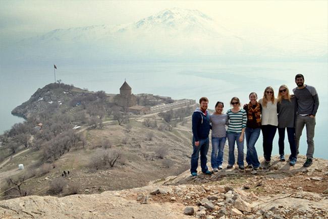 Overlooking Akdamar
