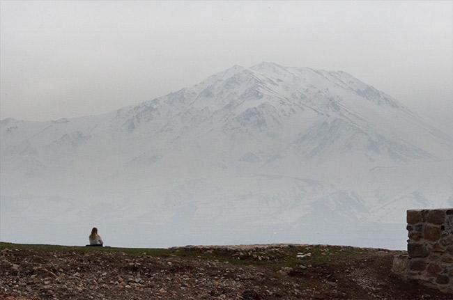 Akdamar mountain view