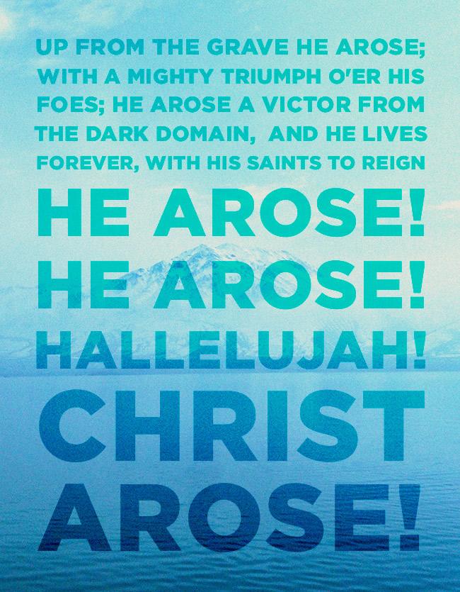 Hallelujah, Christ Arose!