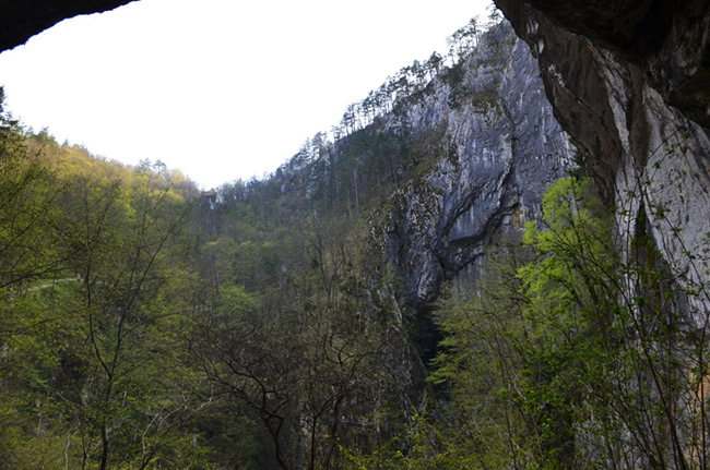 Cave cliffs