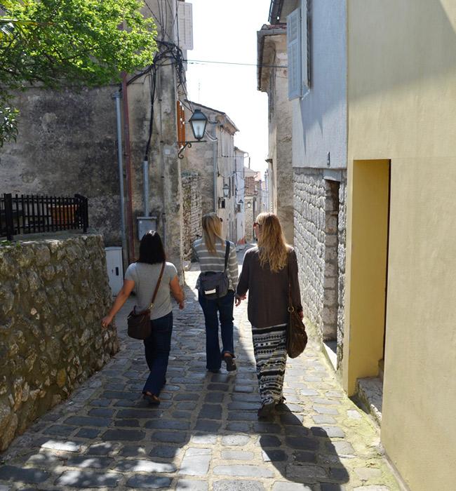 Krk Island Streets