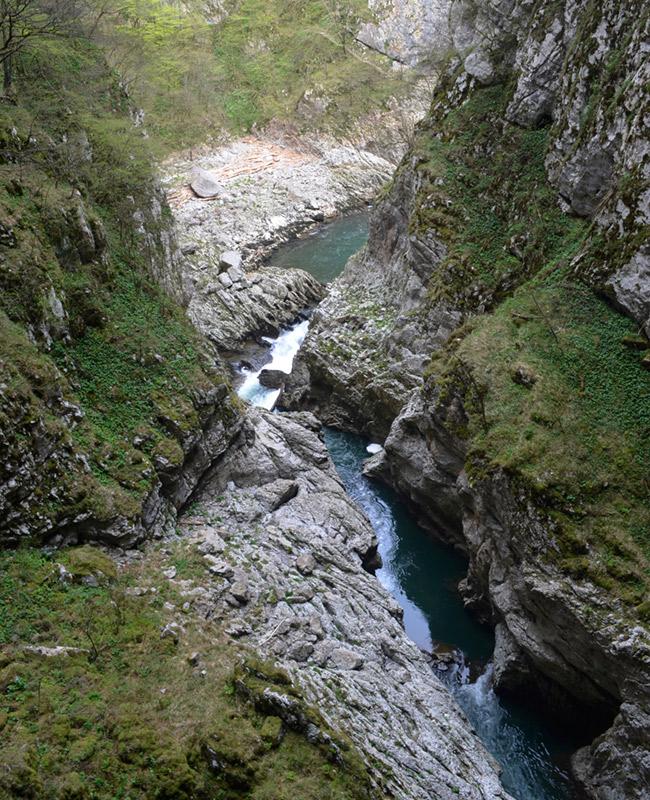 Cave river