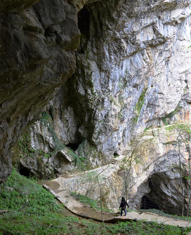 Škocjan steps